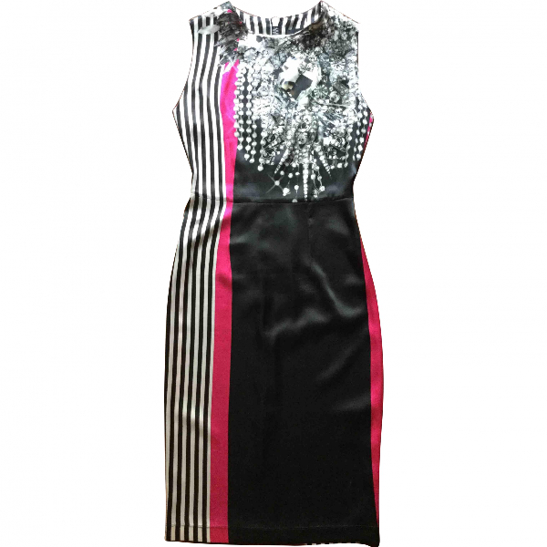 Marco Bologna Black Silk Dress