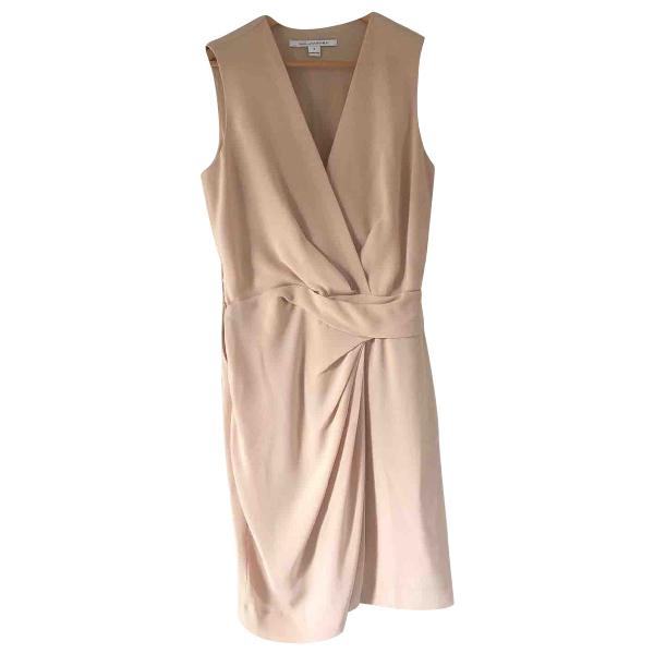 Diane Von Furstenberg Beige Dress
