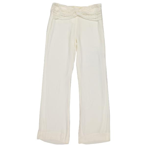 Valentino White Trousers