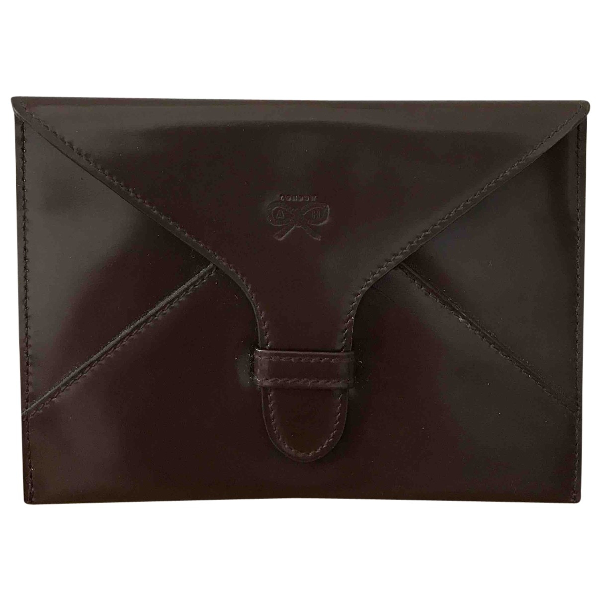 Anya Hindmarch Brown Leather Wallet