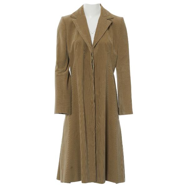 ChloÉ Brown Cotton Coat