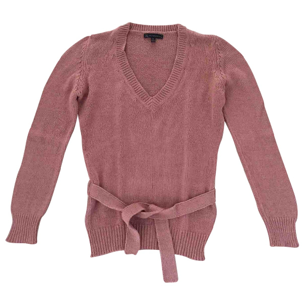 Burberry Pink Cotton Knitwear