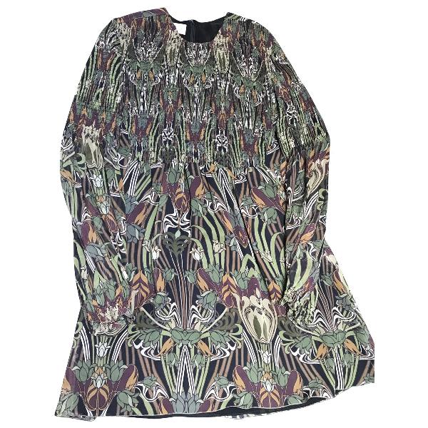Giamba Green Silk Dress