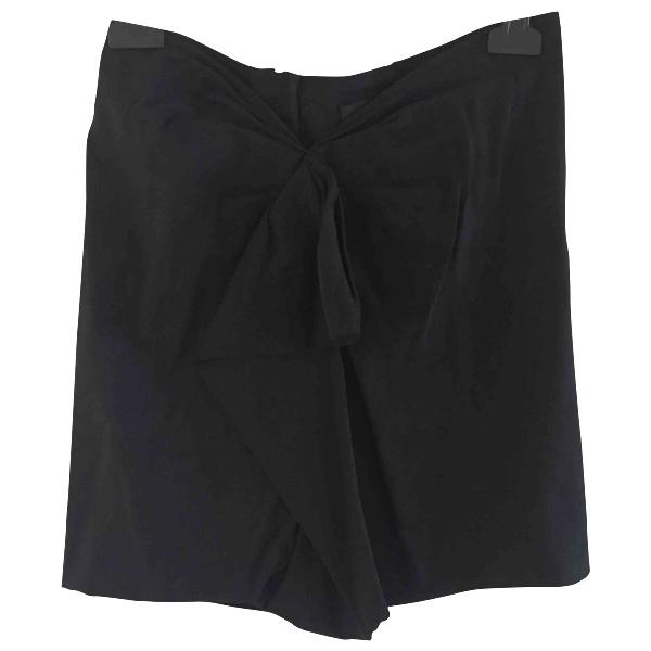 Isabel Marant Black Linen Skirt