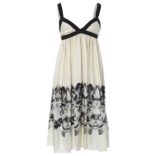 Thomas Wylde Multicolour Silk Dress