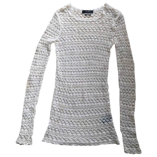 Isabel Marant White Cotton  Top