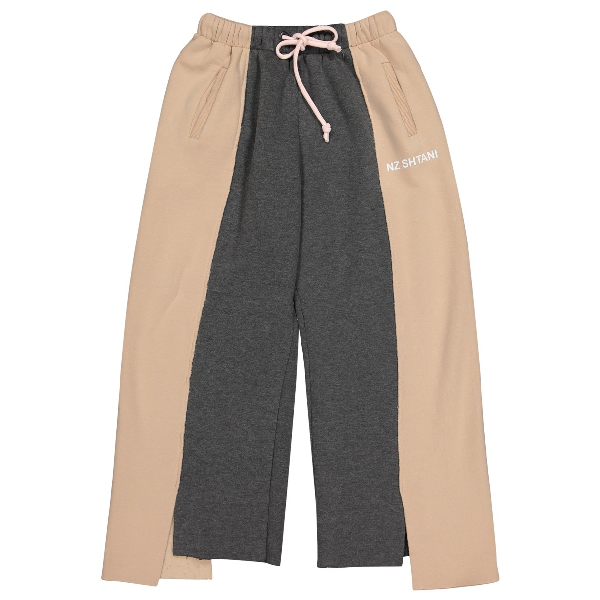 Natasha Zinko Pink Cotton Trousers