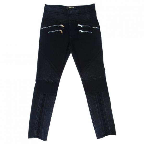 Roberto Cavalli Black Cotton - Elasthane Jeans
