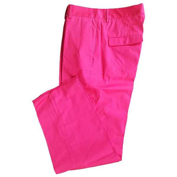 Paul Smith Pink Cotton Trousers