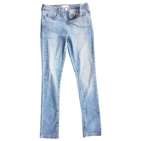 Gerard Darel Blue Cotton Jeans