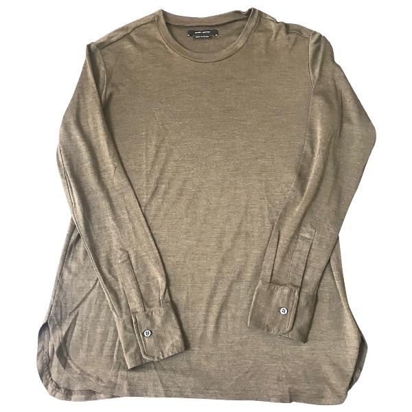Isabel Marant Khaki Silk  Top