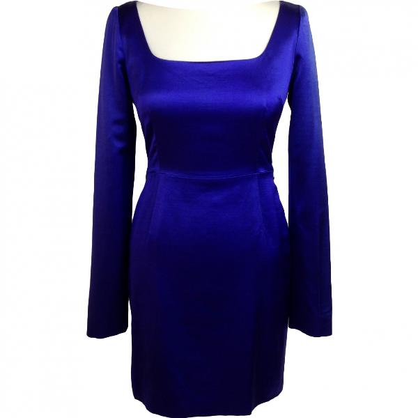 Proenza Schouler Purple Silk Dress