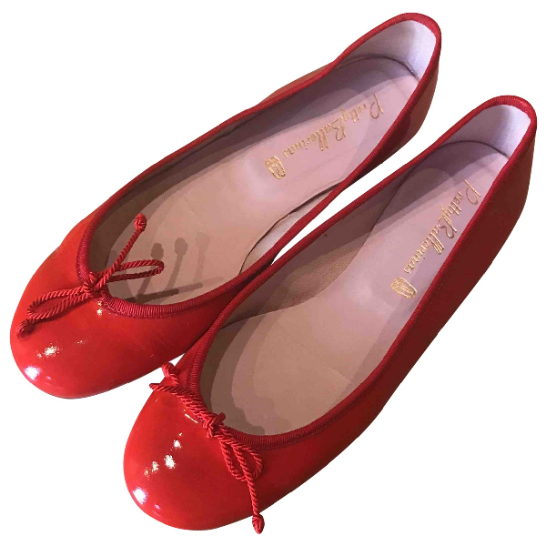 Pretty Ballerinas Red Patent Leather Ballet Flats