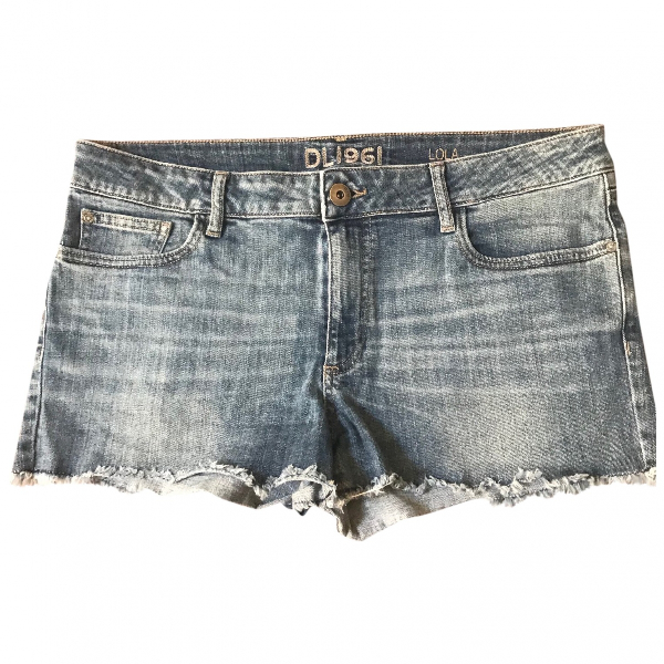 Dl1961 Blue Cotton Jeans