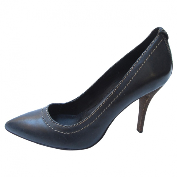 Calvin Klein Grey Leather Heels