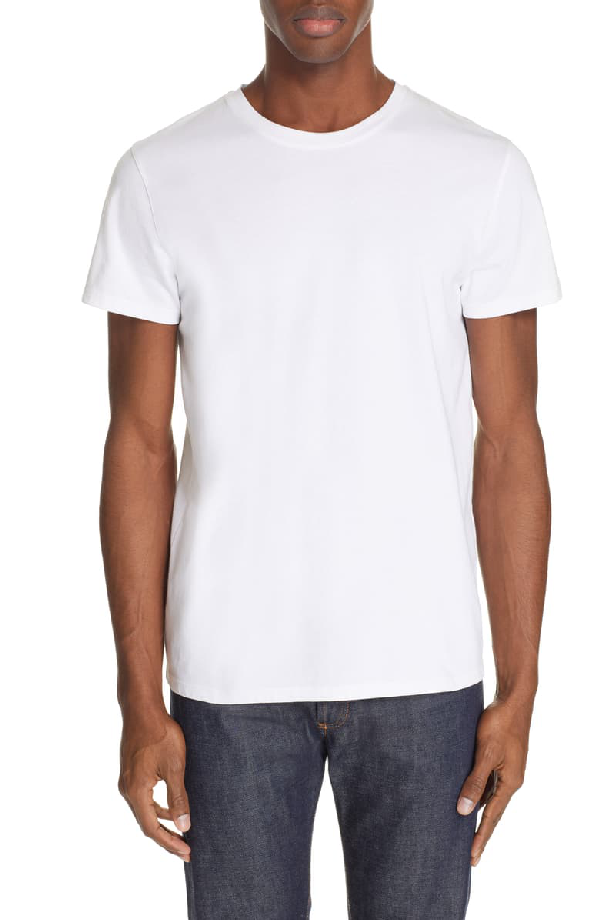 Jimmy Crewneck T-Shirt In White