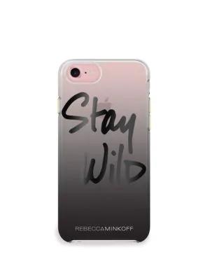 Rebecca Minkoff Stay Wild Iphone 7 Case In Black Ombre