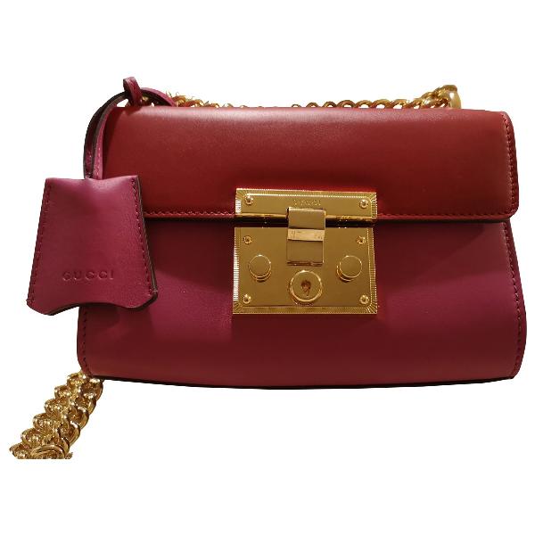 Gucci Padlock Multicolour Leather Handbag