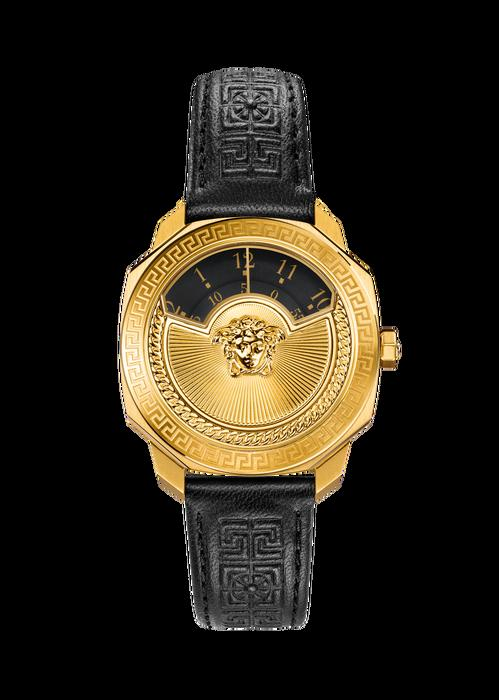 63514963 Versace Dylos Icon Gold Black Dial Watch   ModeSens