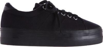 No Name Plato Platform Sneakers In Black