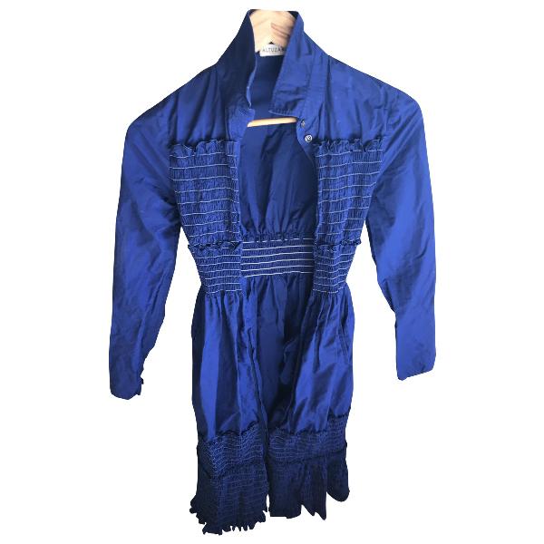 Altuzarra Blue Cotton Dress
