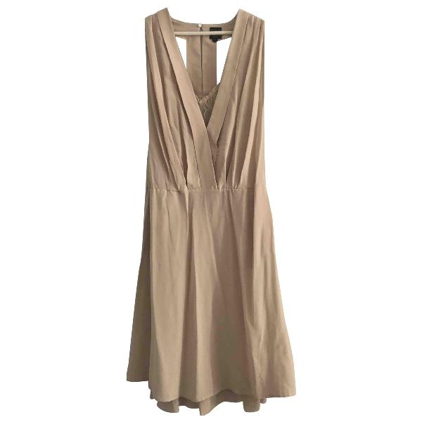 Swildens Beige Silk Dress
