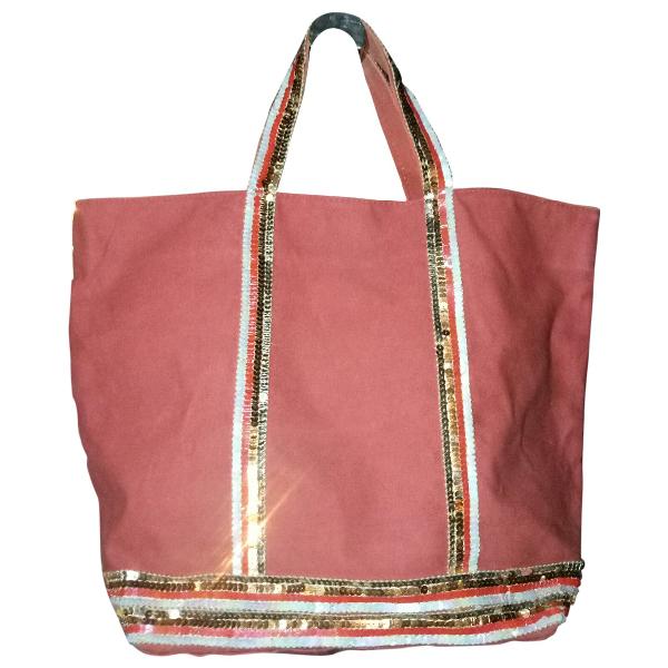 Vanessa Bruno Cabas Red Cotton Handbag