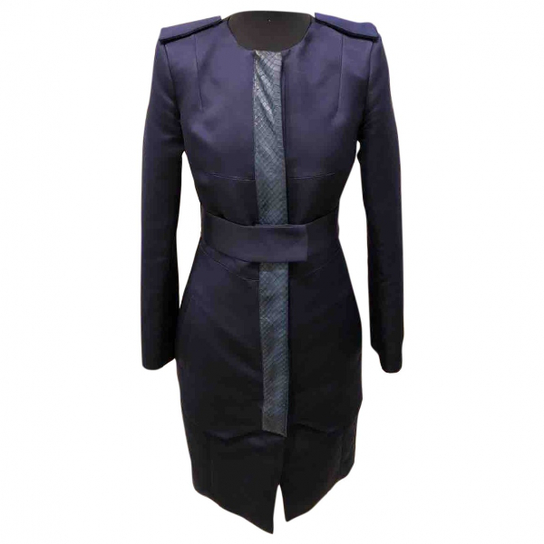 Altuzarra Navy Silk Dress