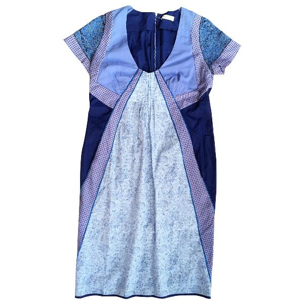 Wunderkind Blue Cotton Dress