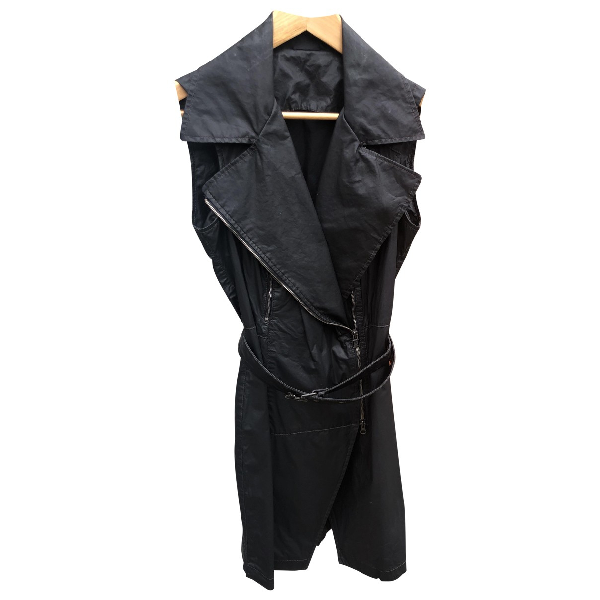 Belstaff Black Cotton Dress