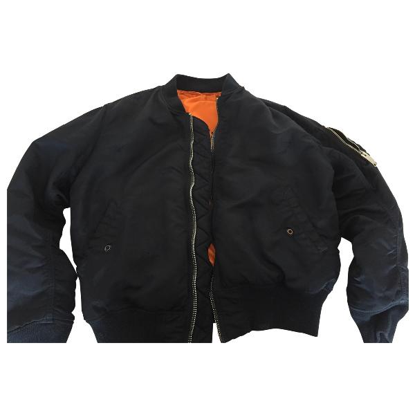Alyx Blue Leather Jacket