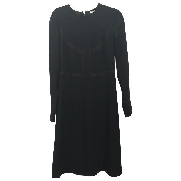 Vilshenko Black Wool Dress