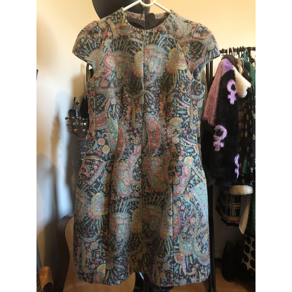 Carven Multicolour Wool Dress