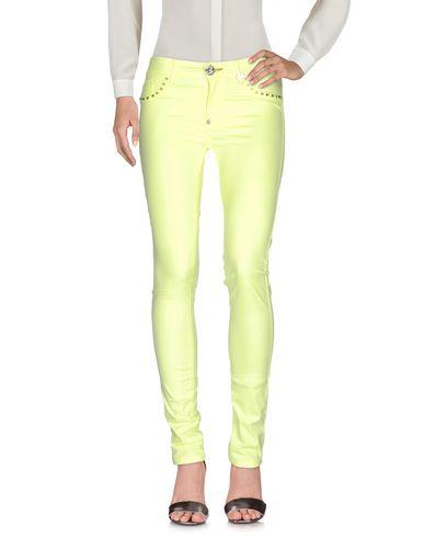 Philipp Plein Casual Pants In Light Yellow