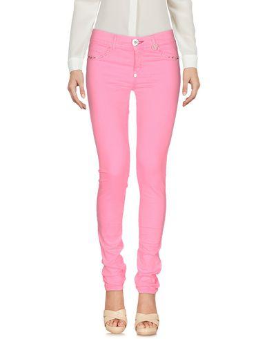 Philipp Plein Casual Pants In Pink