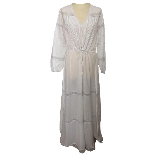 Swildens White Cotton Dress