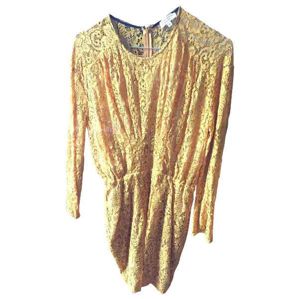 Roseanna Yellow Cotton Dress