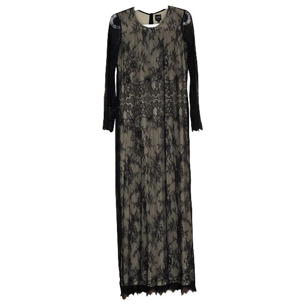Swildens Black Lace Dress