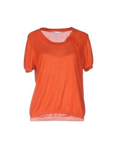 Red Valentino Cashmere Blend In Orange