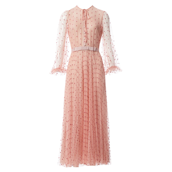 Luisa Beccaria Pink Dress