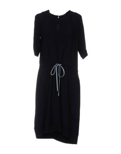 Emporio Armani Knee-length Dress In Dark Blue