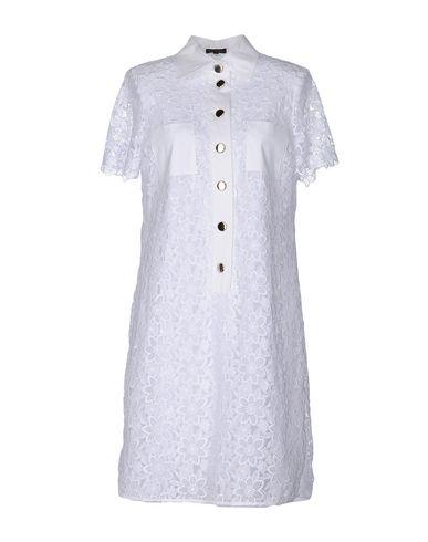 Escada Short Dresses In White