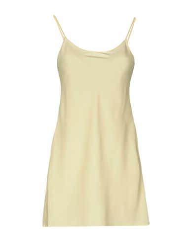 Red Valentino Short Dresses In Light Yellow