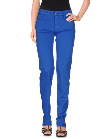 Love Moschino Denim Pants In Bright Blue