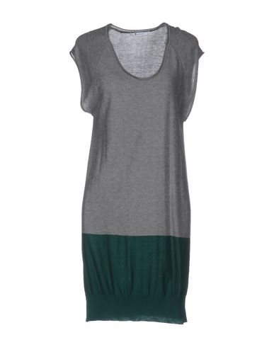 T By Alexander Wang Short Dress In Grey