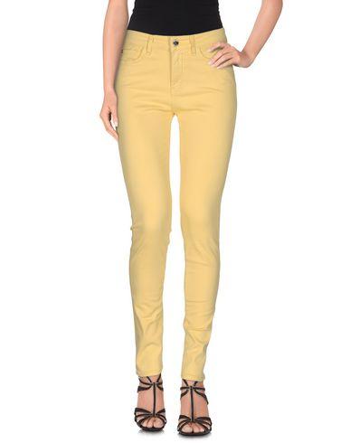 Love Moschino Denim Pants In Yellow
