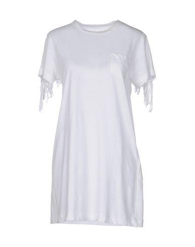 Sacai Short Dress In White