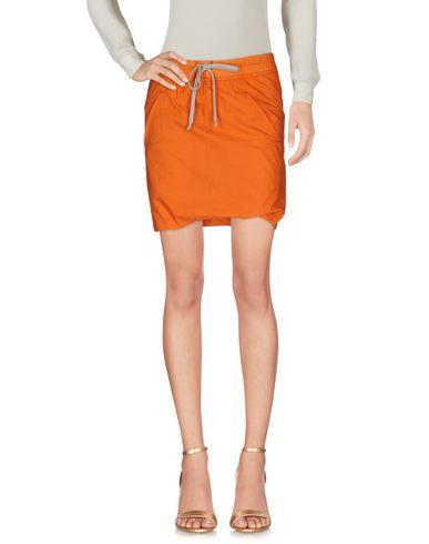 Rick Owens Drkshdw Mini Skirt In Orange