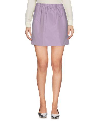 Miu Miu Mini Skirt In Lilac
