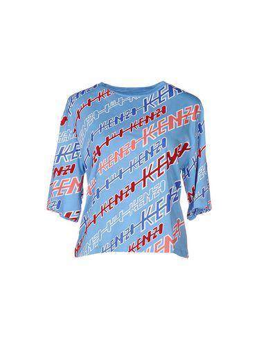 Kenzo T-shirt In Azure